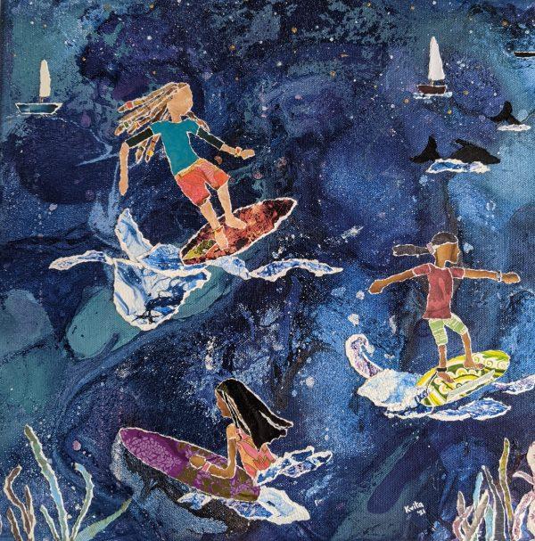 Night Surfers in Sans Souci